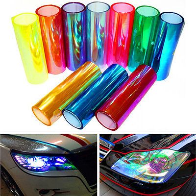 12-Change-Color-Auto-Car-Styling-headlights-Taillights-Translucent-film-Sticker