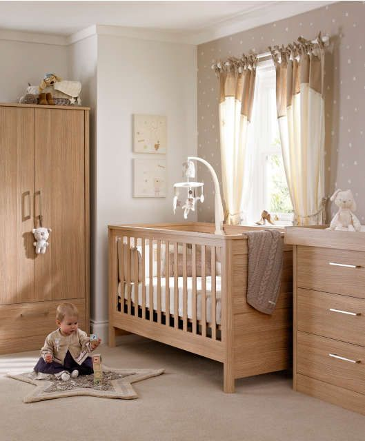Metropolis 3 Piece Set Oak 3 Piece Sets Mamas Papas3 Piece