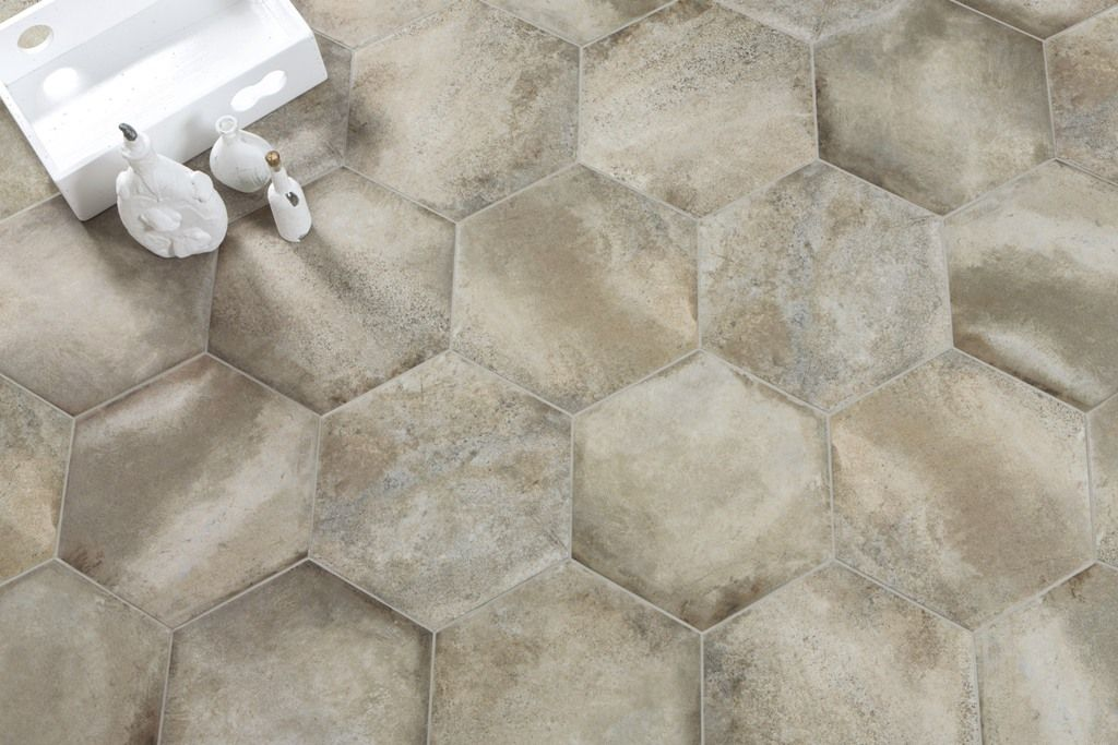 6 Hoekige Tegels : Hexagon hoekige tegels woonkamer tegels tiles
