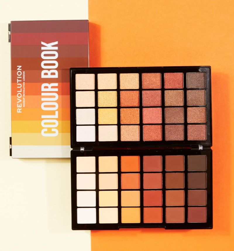 Makeup Revolution Colour Book Palettes Makeup Revolution Makeup Color