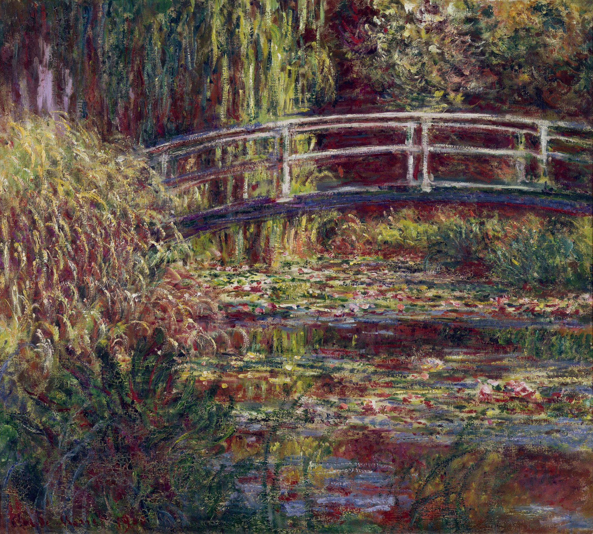1000 images about Monet s Japanese Bridge & Water Lilies on Pinterest