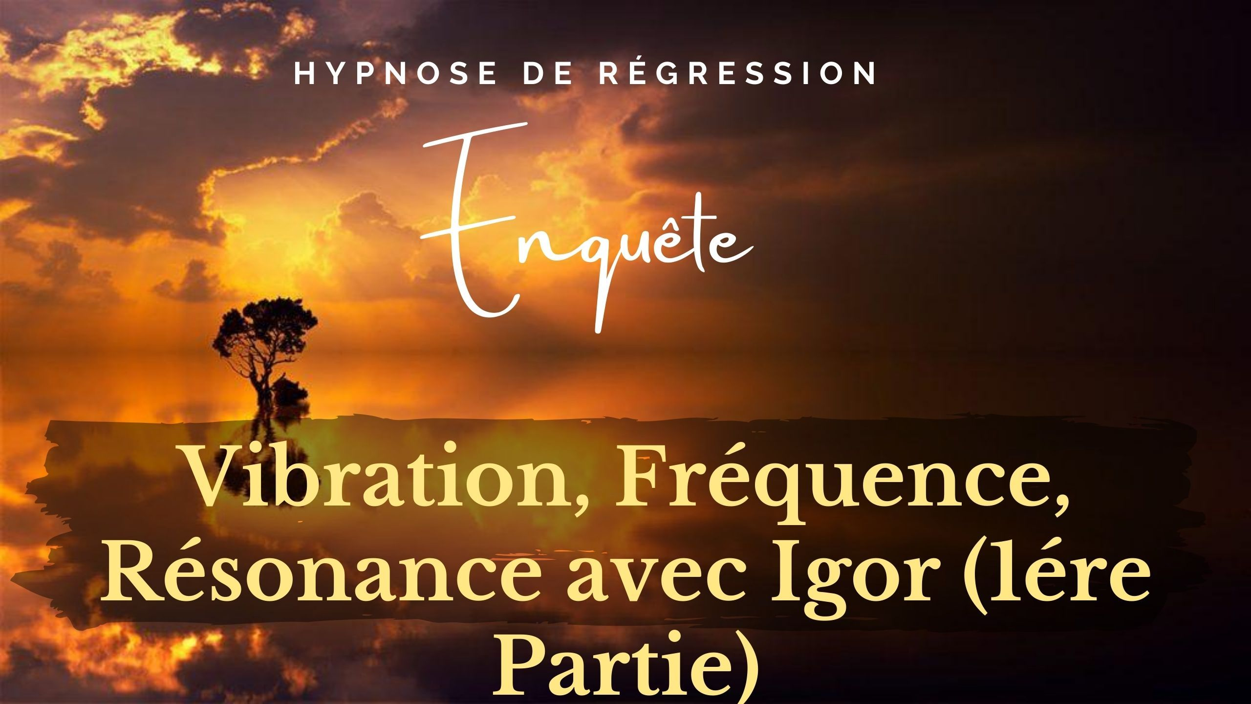 Enquete 30 Vibration Frequence Resonance Regression Conscience Liberee Memoires