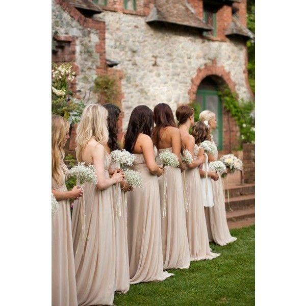 Blushing Bride Wedding found on Polyvore