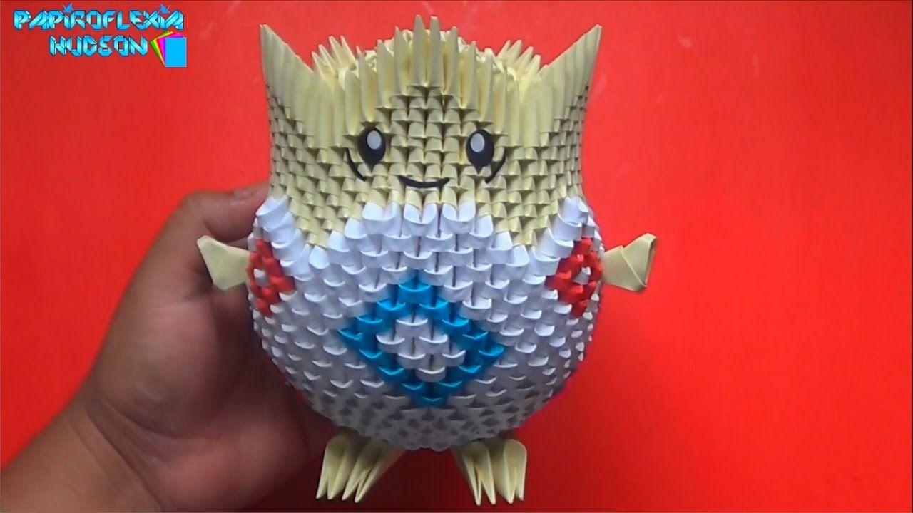 Origami 3d Togepi Pokemon Pinterest Swantutorial Blue39s Chinese Modular Swan Diagram