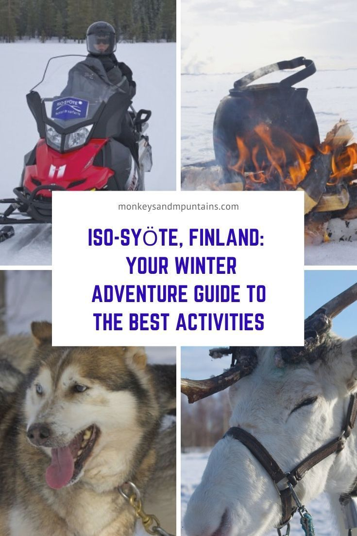 Photo of Iso-Syote Finland: Your winter adventure guide