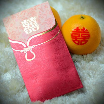 Pink Wedding Ang Pao Red Packet Red Pocket Chinese Style Design