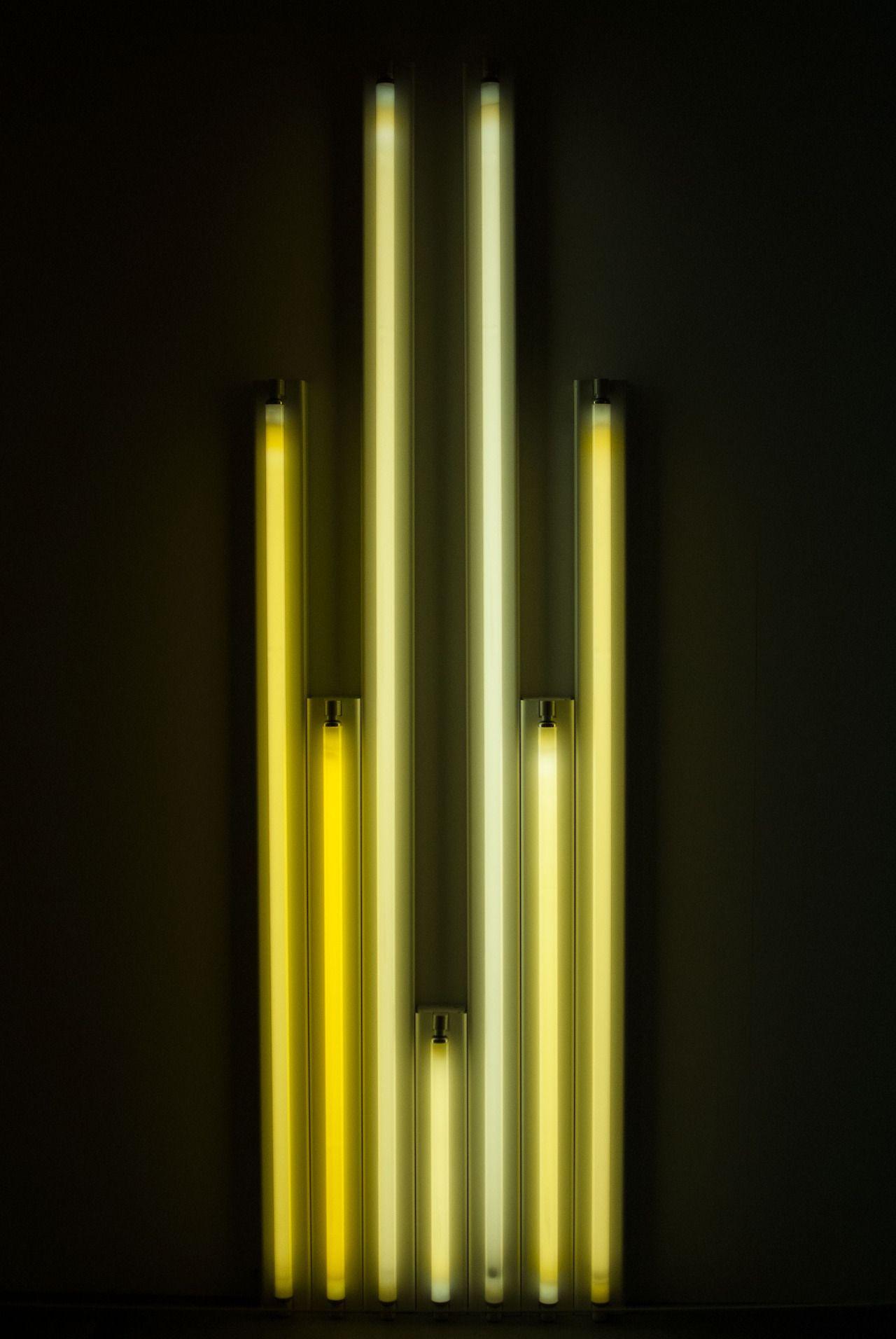 Light Yellow Tatemodern Exhibition