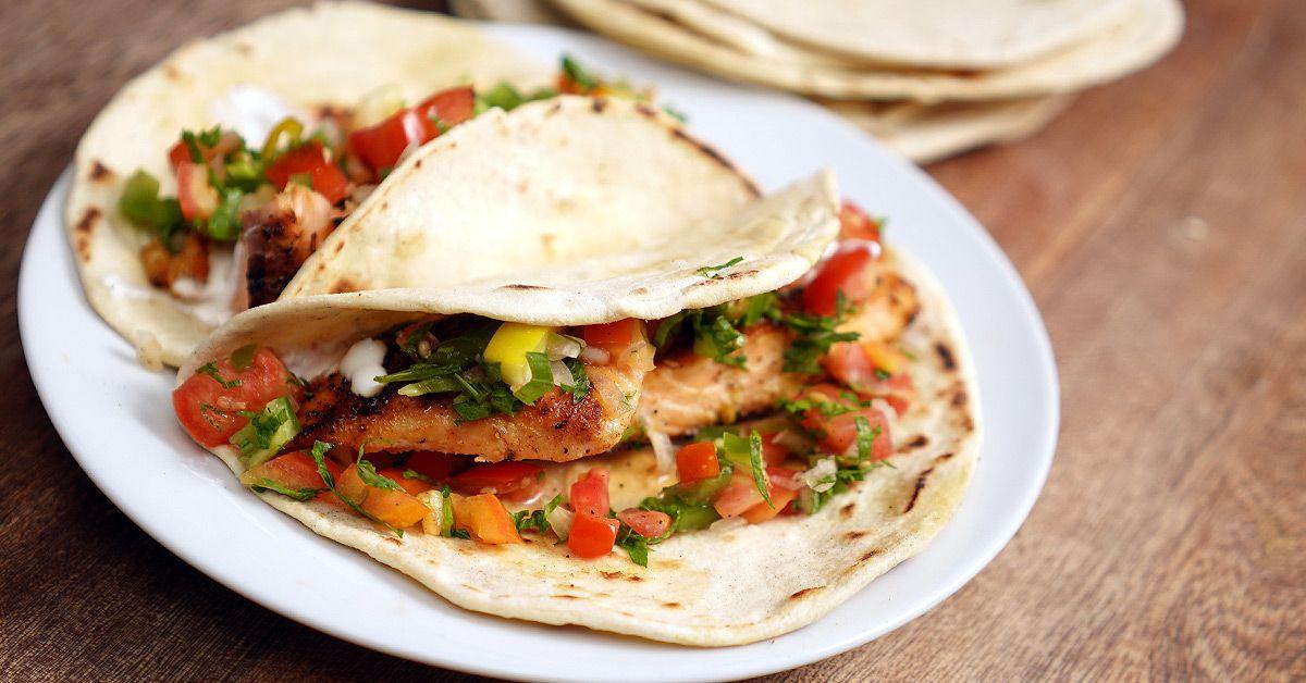 Flour Tortillas with bonus Fish Tacos Recipe - Taco Tuesday | Mmhmm