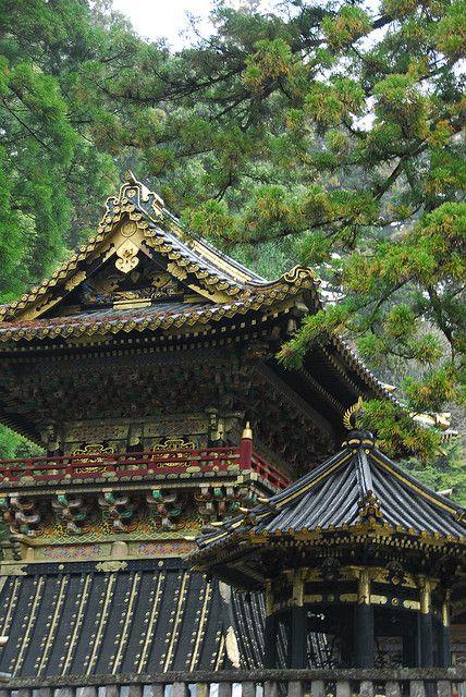 Toshogu Shrine in Nikko, dedicated to Japan's most ...