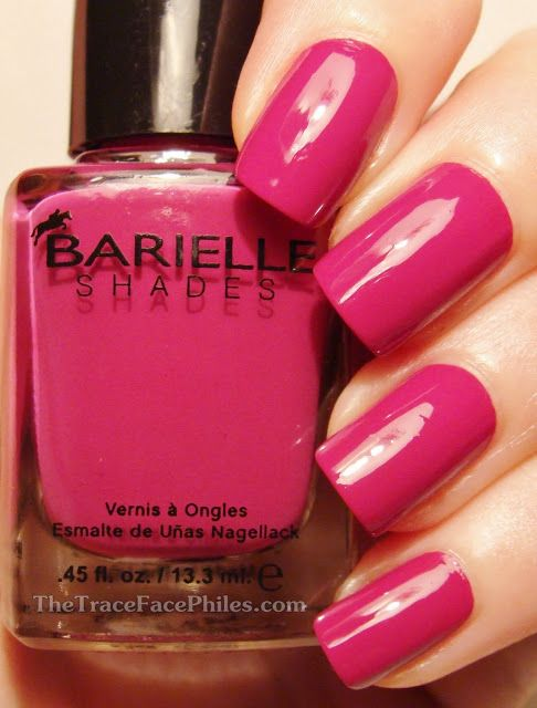 The TraceFace Philes: Barielle Brilliant Colors Collection! High Marks Purple