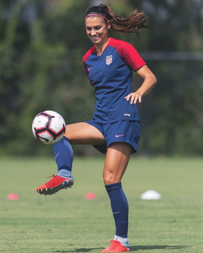 best service 026a4 707cd Alex Morgan || #USWNT (Aug 29, 2018) | soccer | Alex morgan ...
