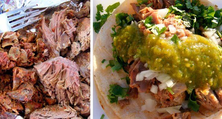 Receta: Tacos de Barbacoa de Res estilo Guerrero | Frases ...