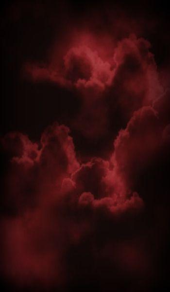 Burgundy Clouds Maroon Aesthetic Red Aesthetic