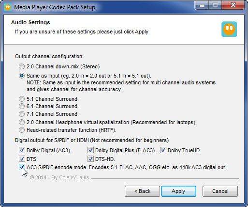 Free Media Player Codec Pack Lite Offline Installer | Download
