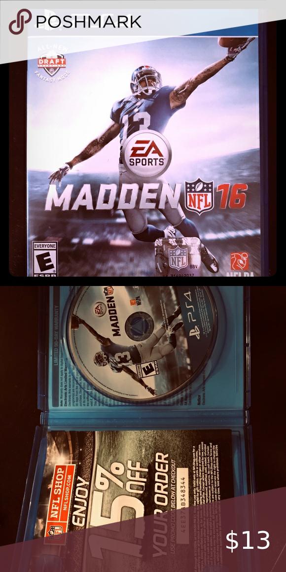 Ps4 Madden 16 Nfl Shop Ps4 Madden
