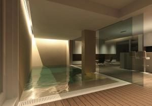TAG: Overview SPA Pool Rendering 3D Model Ettore Tricarico Architetto