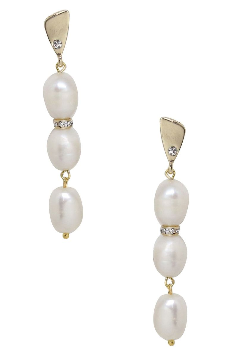 Free Shipping And Returns On Ettika Pearl Drop Earrings At Nordstrom Rous Pearls Dangle Delightfully From Essential That Can Be