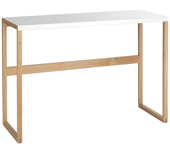 Buy Habitat Kilo Console Table White At Argos Co Uk Visit Argos Co Uk To Shop Online For Occas Metal Console Table White Console Table Console Table Styling