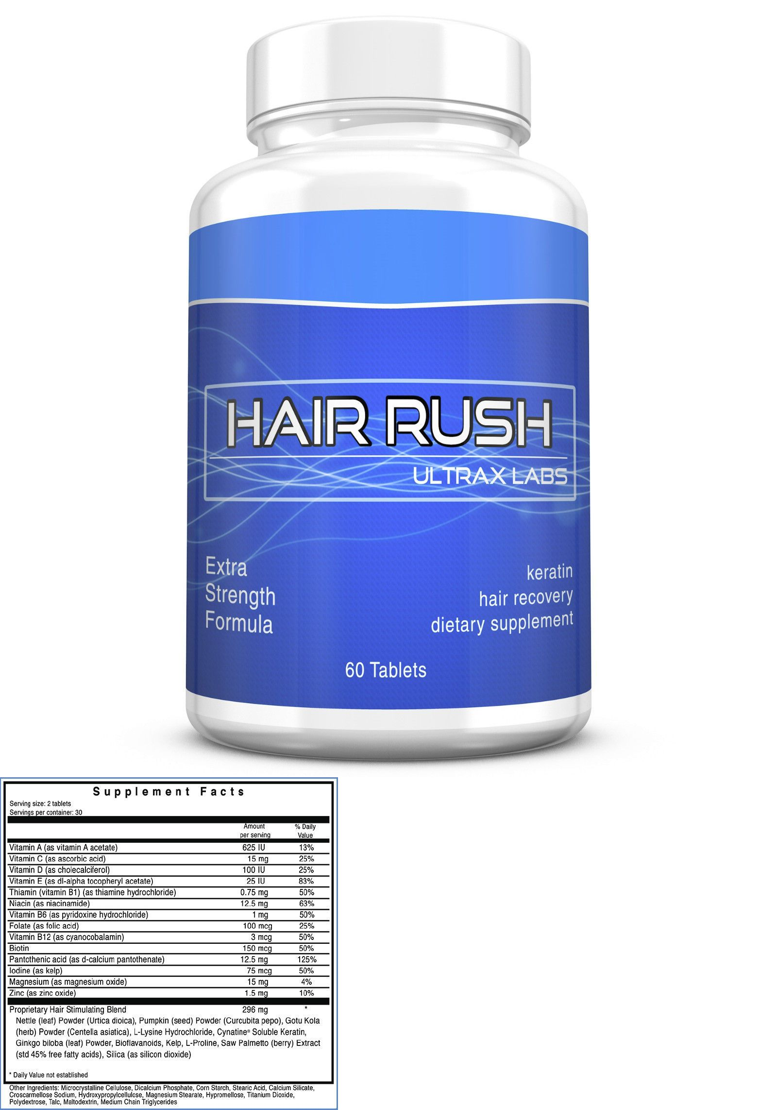 Ultrax Labs Hair Rush Grow Your To The Maxx Loss Kaminomoto Tonic Supplement Treatments 31413 Pinterest