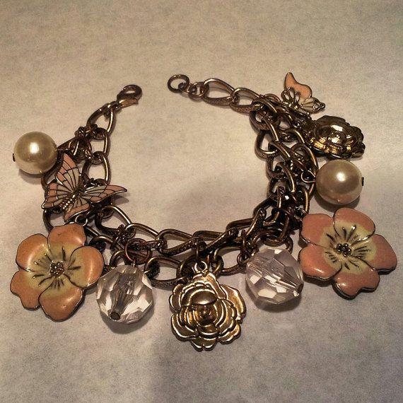 """Emma"" chunky charm bracelet"