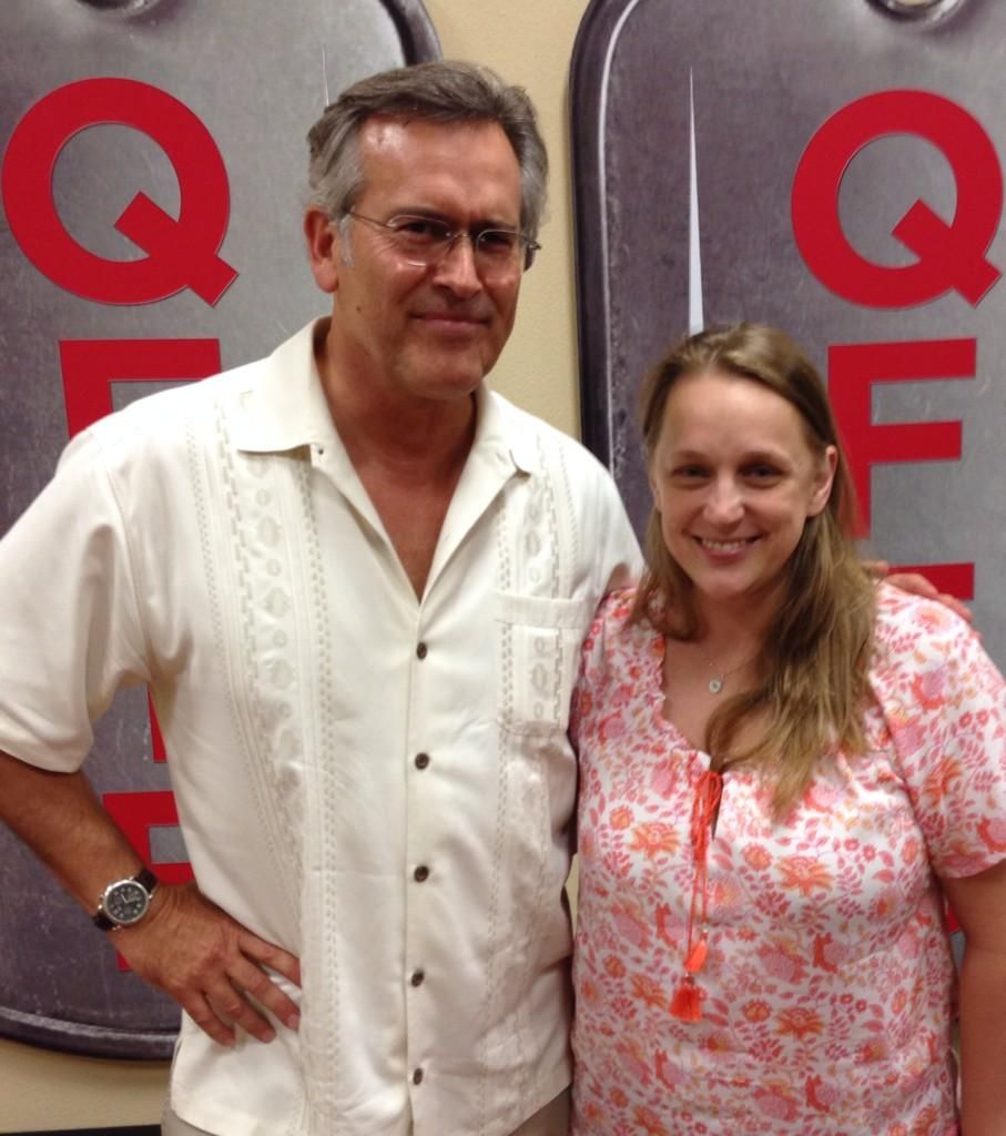"""I met @GroovyBruce today. My life is complete."" c/o @SilverTreeFrog"