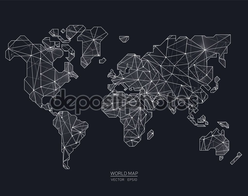 Vector worldmap picture ideas references depositphotos70715905 stock illustration vector world map illustration injpg 1023809 artsy pinterest gumiabroncs Image collections