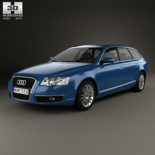 Audi A6 (C6) Avant 2005 By Humster3d The 3D Model Was