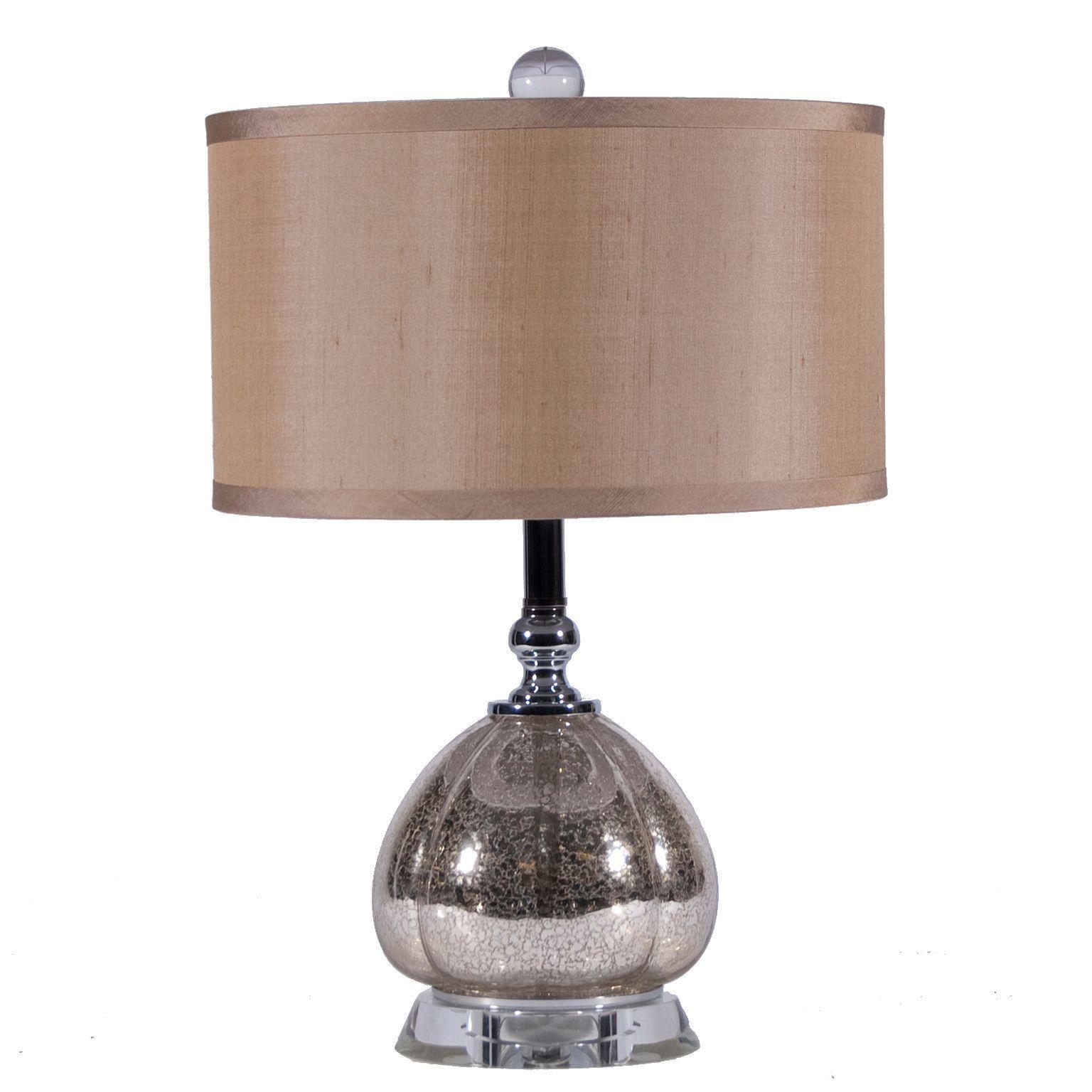 Mercury Glass Clove Lamp by Regina Andrew