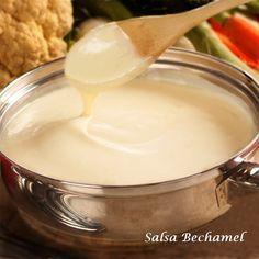 Salsa Bechamel sin grumos. Nuestra versión fácil y sabrosa.