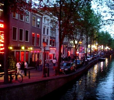 Amsterdam S Red Light District Amsterdam Was Actually Really