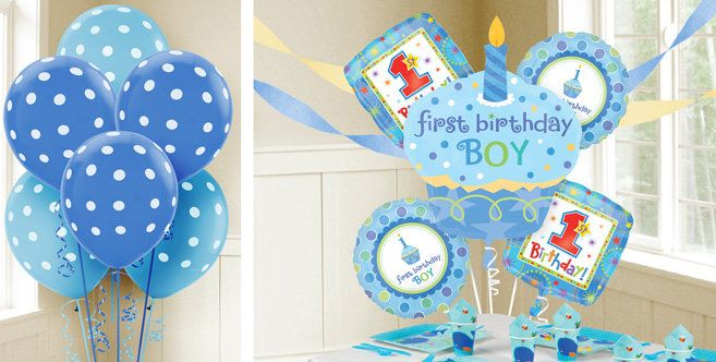 First Birthday Boy Balloons Party City