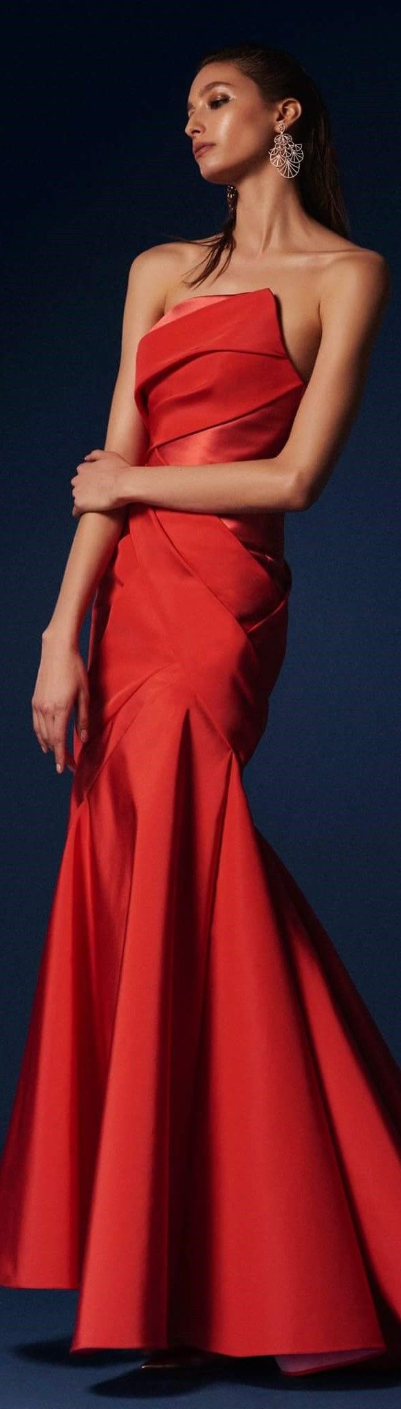Red and black wedding dress  Rubin Singer pre fall   Evening u wedding dress  Pinterest