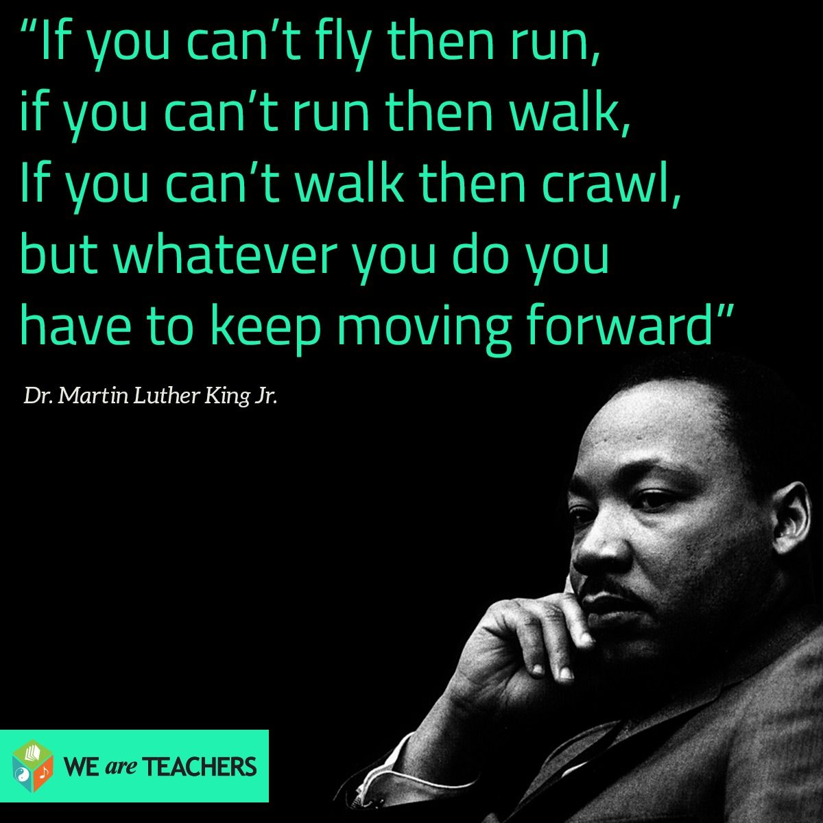 African Inspiration Quotes: Martin Luther King Jr Quote.