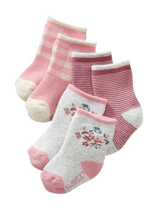 Camano Calcetines, Pack de 6 para Beb/és