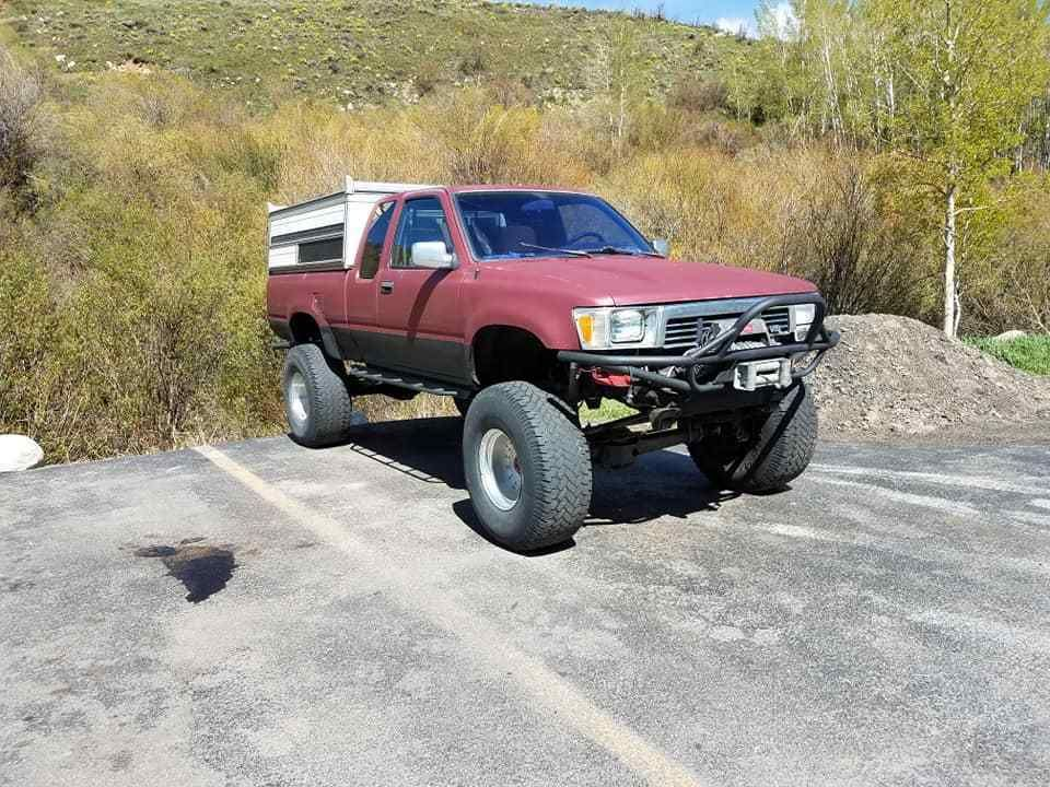 Custom Driveshaft 1989 Toyota Monster Truck Monster Trucks For