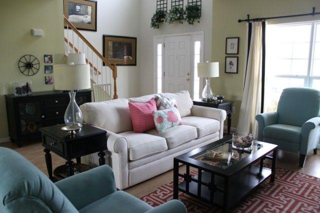 Salón moderno tendencias originales para 2015 Sofás blancos - butacas modernas