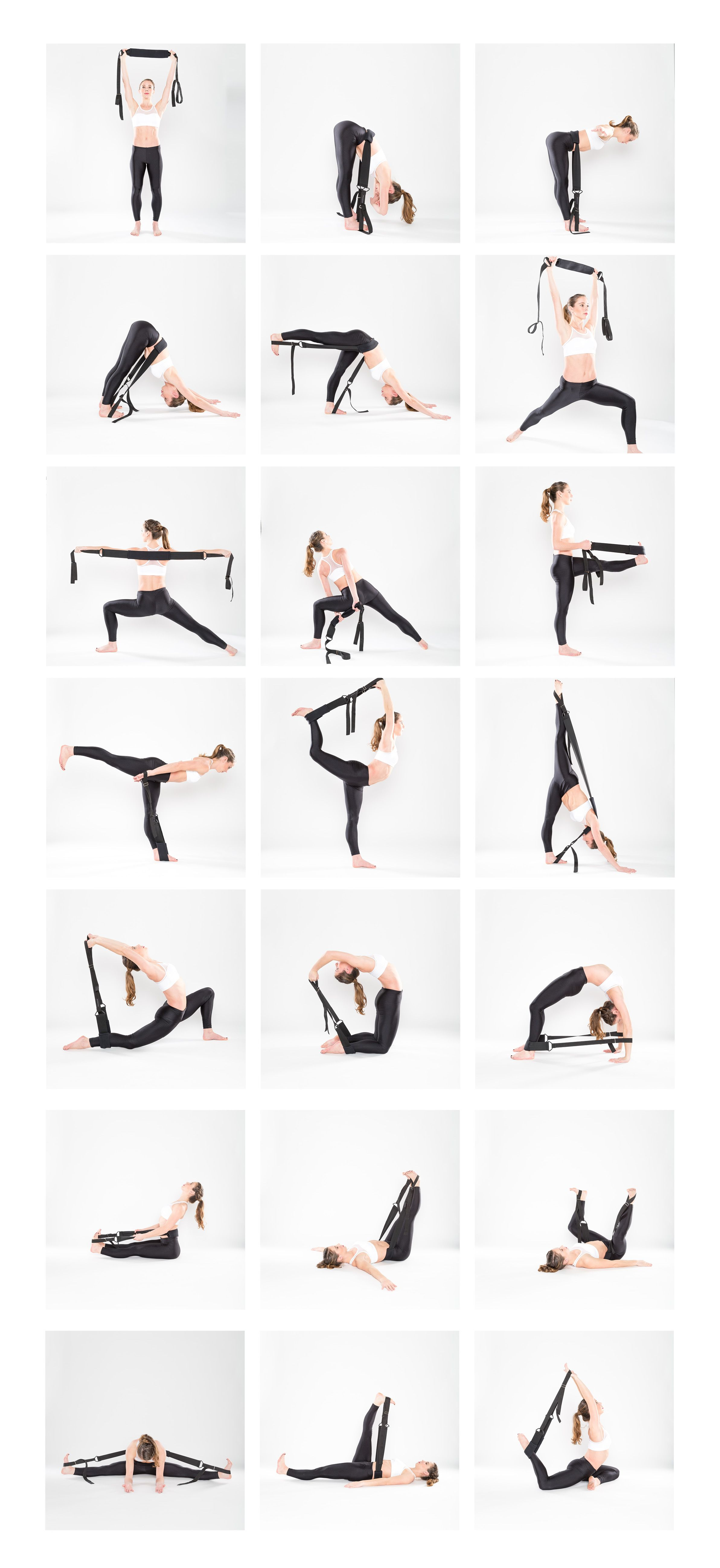 Yoga Exercises With Strap
