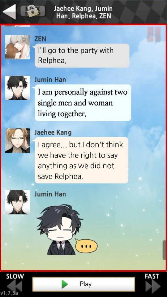 Jumin is so jealous!! #Zen'sRoute | Random Crap & Mystic