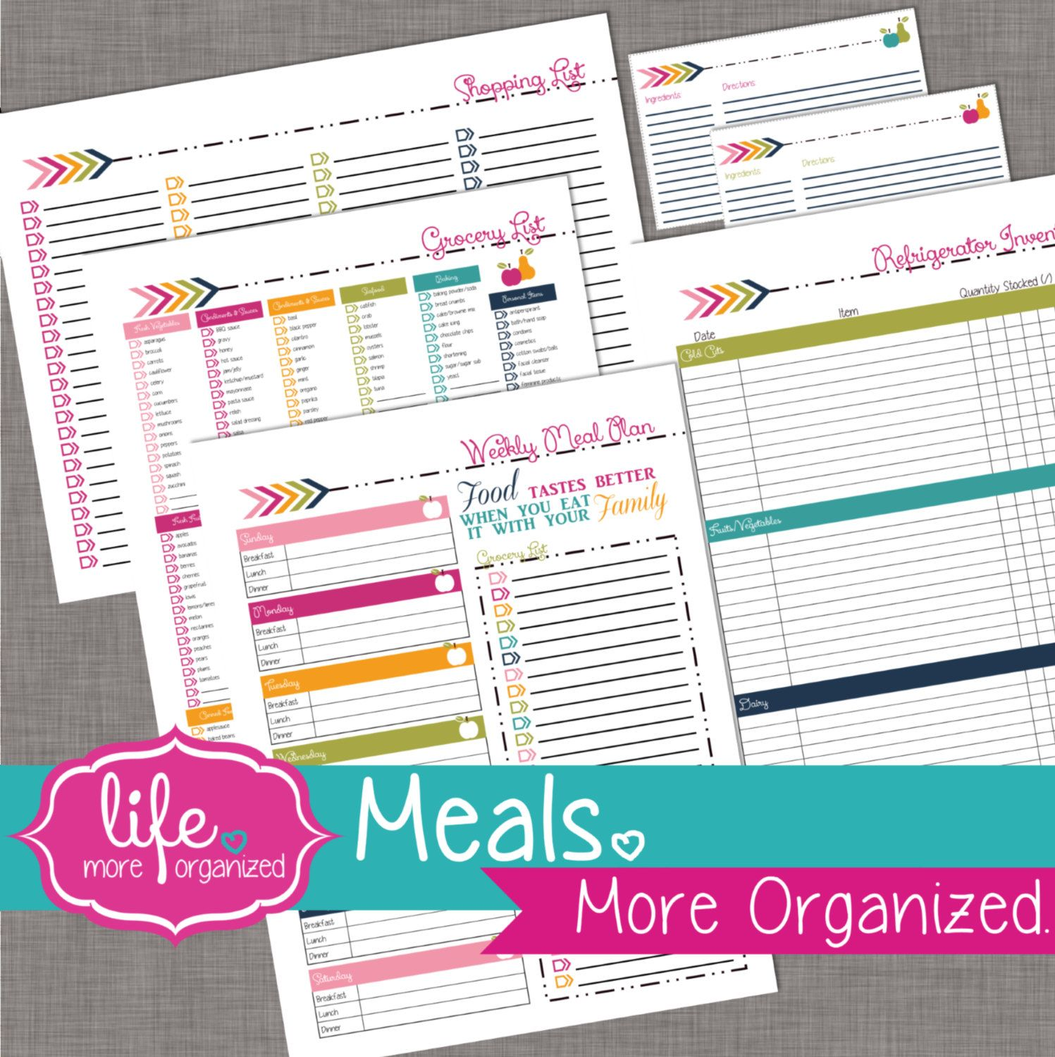 Meals More Organized