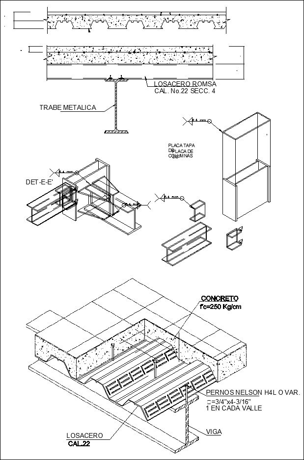 Steel structure detail cad drawings download https www for How to read structural blueprints