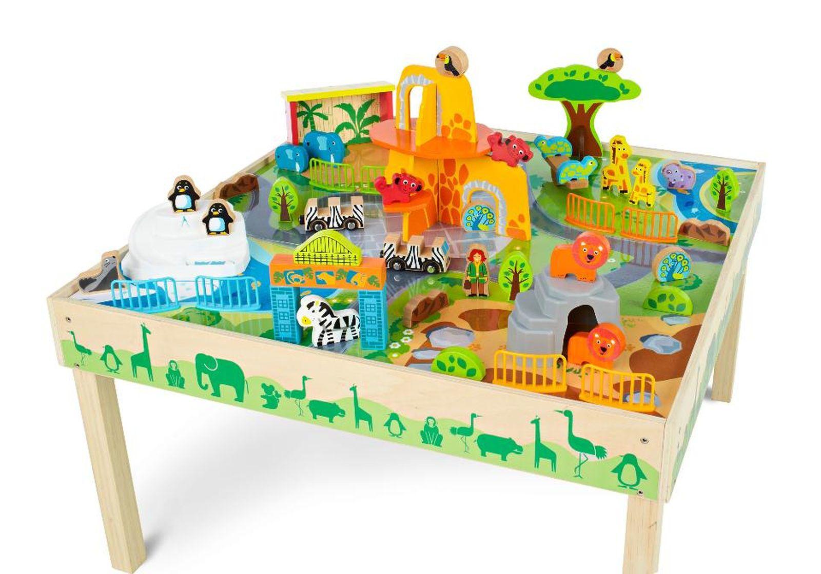 Delicieux Imaginarium Zoo Play Table