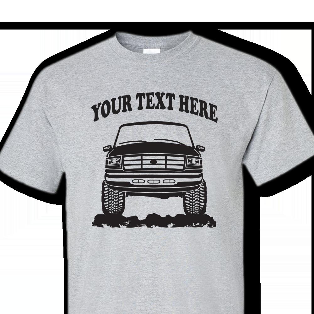 Ford Bronco F F Truck Custom Tshirt X - Custom vinyl decals for tee shirts