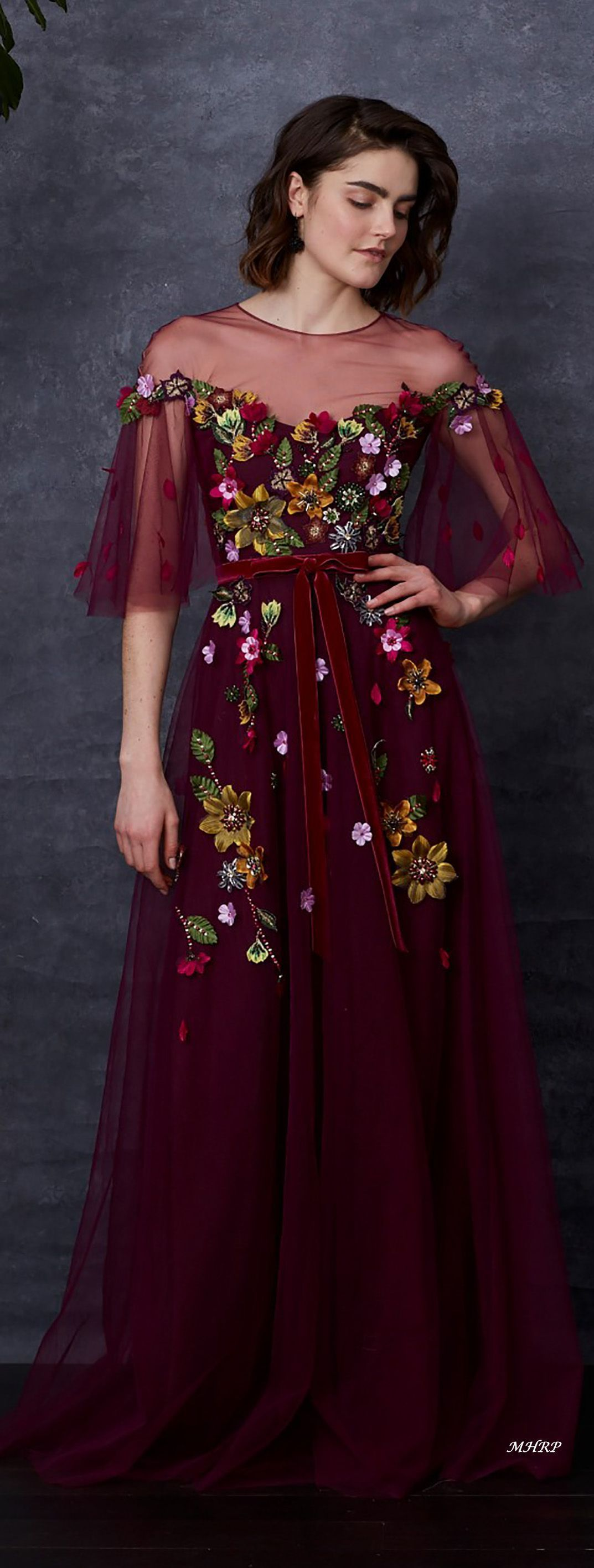 Marchesa Notte Pre-Fall 2018_ image pinned from marchesa.com | #kleider nhen #kl…
