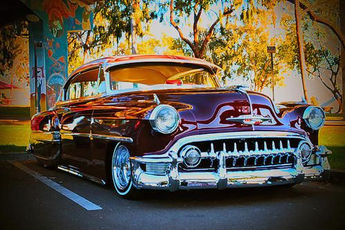 Chicano Park Lowrider Poster By Stephen Ray Chicano Park Lowriders Old Classic Cars