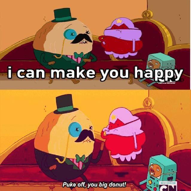 Adventure Time College - Poor Cinnamon Bun :( Adventure Time