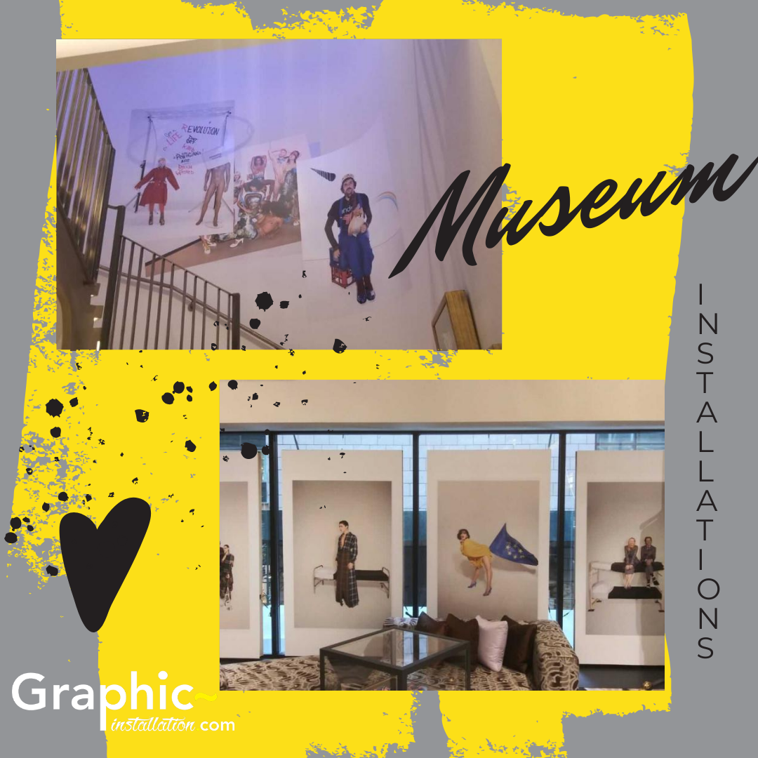 We Are Museum Exhibit Graphics Installation Experts That Understand Your Projects Call Us To Discuss Your Ne Museum Exhibition Exhibition Art Exhibition