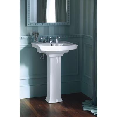 Kohler Archer Pedestal Lavatory White 24 Inches X 20 1 2 Inches
