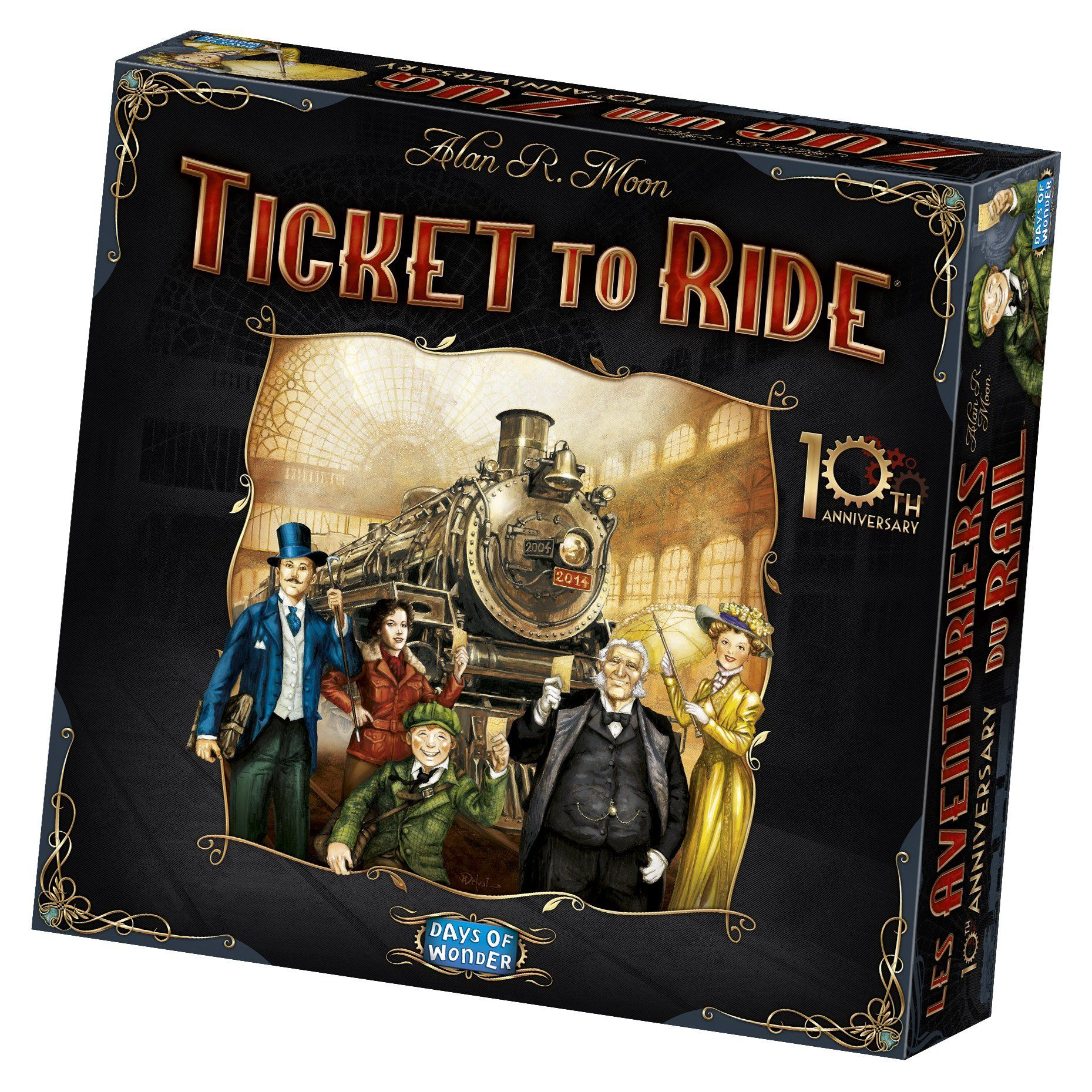 Ticket to Ride 10th Anniversary Edition Ticket to ride