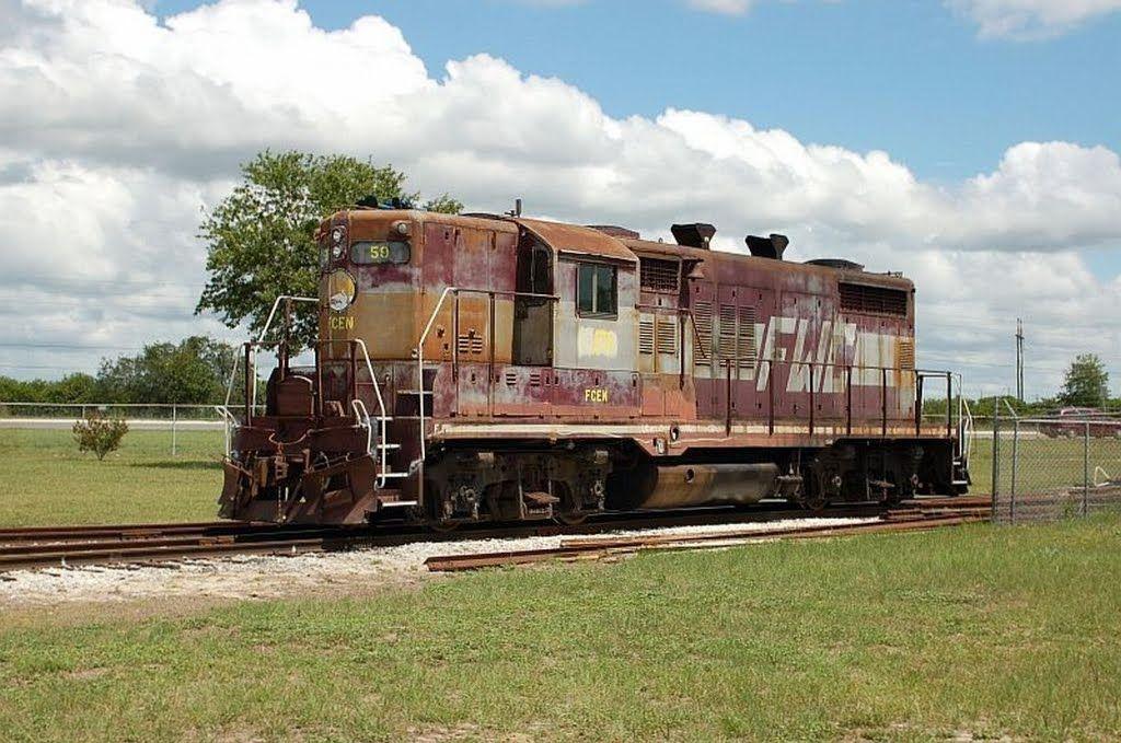 florida train Florida Central Railroad, Ex Florida West