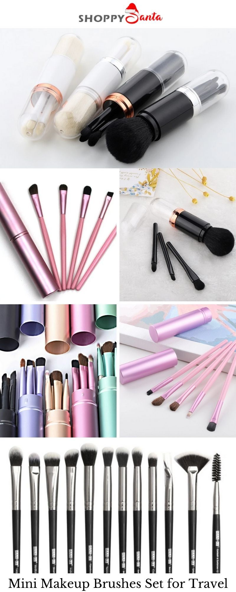 Women love Makeup! Buy and gift to your loved ones. Absolutely Free of cost! Buy Mini Makeup Brushes Set for Travel. Don't miss the opportunity! Get the best one within your range. Click here:- shoppysanta.com #shoppysanta #makeupbrushesset #portablemakeupbruses #makeuptools